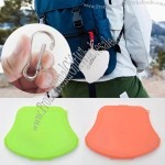Face Mask Carry Case with Carabiner