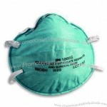 Face Mask with 3-ply Design, Made of PP, Filter/Terylene
