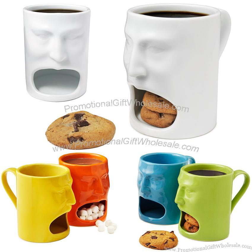 Face Mug with Biscuit Holder Factories in China #1151902647