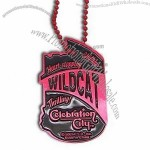 Fancy Dog Tag with Enamel Color on Recessed Logo(1)