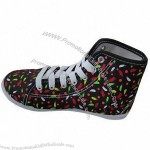 Fashion canvas shoe for girl's