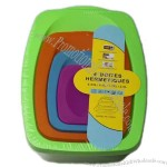 Fashion Environmental Home PP Plastic Food Container