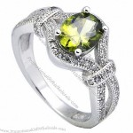 Fashion Jewelry Ring Silver 925