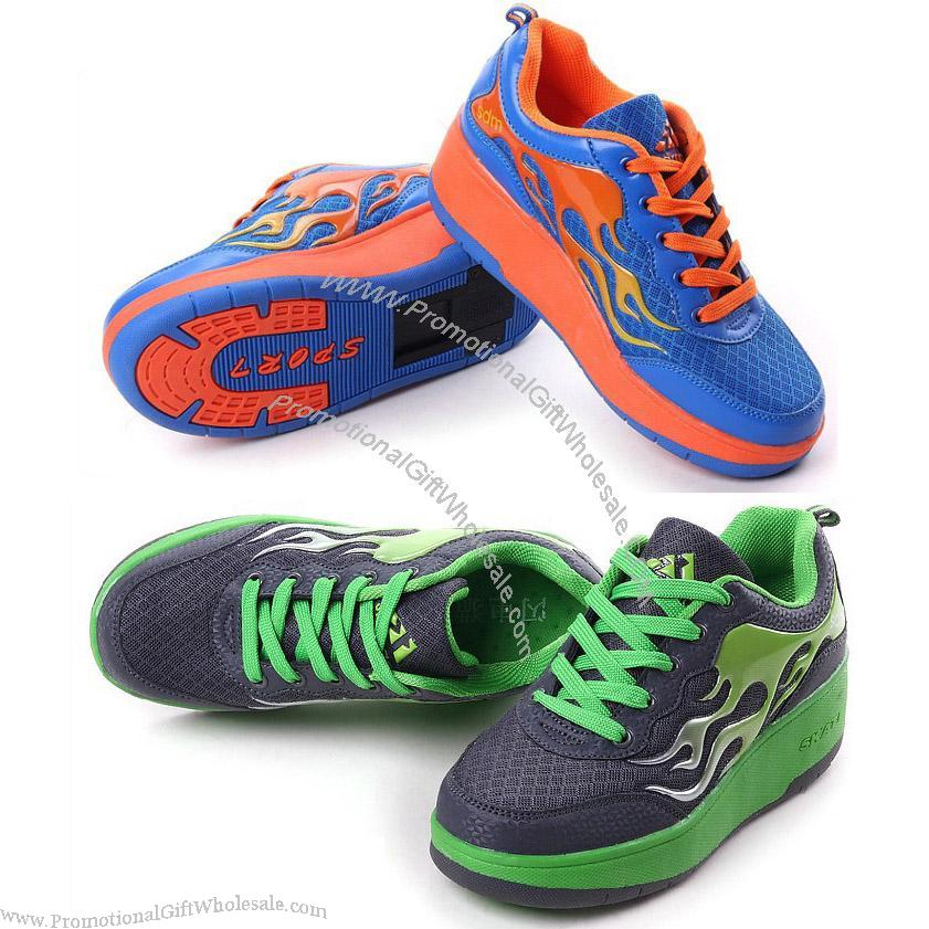 Fashion Kids Yougth Skate Shoes Roller Shoes Automatic ...