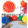 Fashion Realistic Lovely Silicone Hedgehog Pet Dog's Toy
