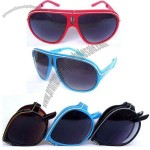 Fashion Red Folding Sunglasses