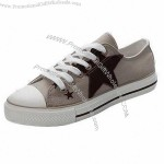 Fashion style ladies' canvas shoes with canvas upper, cowells outsole