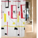 Fashion Waterproof Shower Curtains