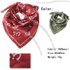 Fashion Wool Scarf Red
