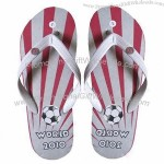 Fashionable Beach Style Men's Sandals in PVC Strap and Rubber Sole