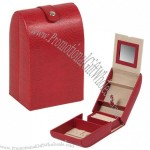 Fashionable Leather Jewelry Storge Box