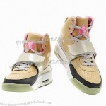 Fashionable Men's Skateboard Shoes with Split Leather Upper and RB Outsole
