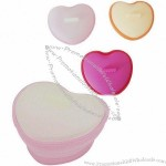 Fashionable Mini Silicone Cookie Steamers with Heart Shape