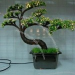 Fashionable Novelty Charged Artificial Trees Miniascape