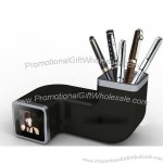 Fashionable Photo Frame with Digital Voice Recorder with Pen Holder