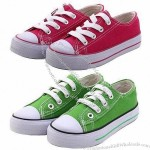 Fashionable Style Canvas Leisure Shoes for School Students with Canvas Upper