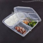 Fast Food Packing, Made Of Disposable Plastic