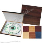 Fiberboard mini CD case with any color suede finish.