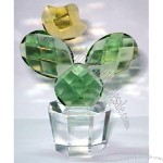 Fifth Avenue Crystal Reflections Cactus Flower Planter