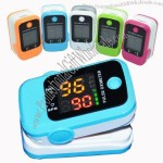 Fingertip Pulse Oximeter, Blood Oxygen