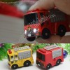 Fire Truck Keychain LED Flashlight with Sound