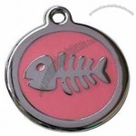 Fishbone ID Tag for Cats