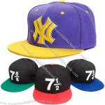 Fitted Custom Ny Flat Brim Snapback Baseball Cap
