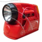 Five-in-one Multifunction Jump Starter with Spotlight and LED Indicator
