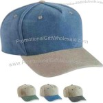 Five panel pigment dyed garment washed cotton cap with looptape