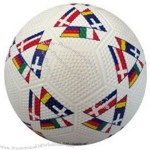 Flags Rubber Soccer Ball