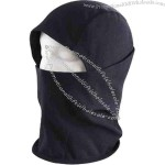 Flame resistant knit balaclava.