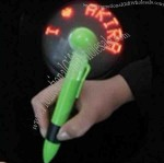 Flashing Message Fan Pen