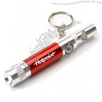 Flashlight with Compass Whistle