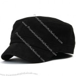 Flex-fit Genuine Leather Military Cadet Cap for mens and womens
