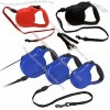 Flexi Classic Long 2 Retractable Cord Leash for Dogs Up to 44lbs