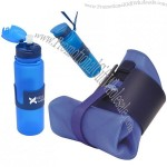 Flexoible Silicone Water Bottles