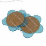 Flower-shaped Coaster Set
