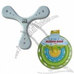 Flying Disc/Boomerang with Promotional Foam Frisbee(1)