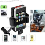 FM Transmitter Hands Free Car Charger for iPhone iPod Holder