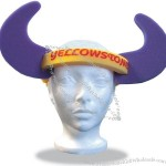 Foam Adjustable Band Hat - Horns