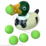Foam Ball Shooting Duck Popper Toy