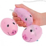 Foam Pig Football Stress Balls