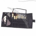 Fold Out Make Up Brush Pouch