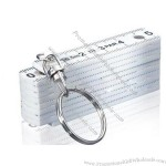Fold Ruler with Keychain