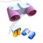 Foldable Binocular/Plastic Toy Mini Telescope