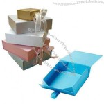 Foldable gift/rigid boxes, ideal for gift, cosmetic, clothes, shoes and underwear