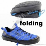 Foldable Sports Shoe with Zipper
