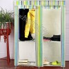 Foldable Wardrobe with Metal Frame
