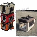 Folding Dog Crate With Replaceable Cover