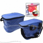 Folding Drink Lunch Bike Bicycle Rack Insulated Cooler Bag
